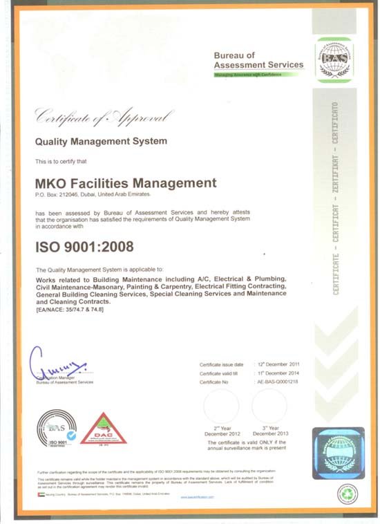 MKO Facilities Management - About us